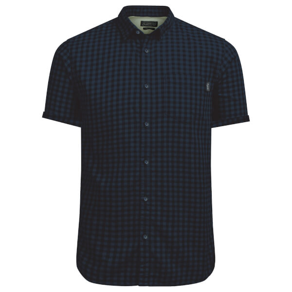 Jack & Jones Men's Originals Jamey Short Sleeve Shirt - Total Eclipse