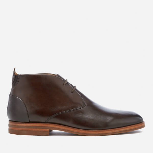 Hudson London Men's Matteo Leather Desert Boots - Brown