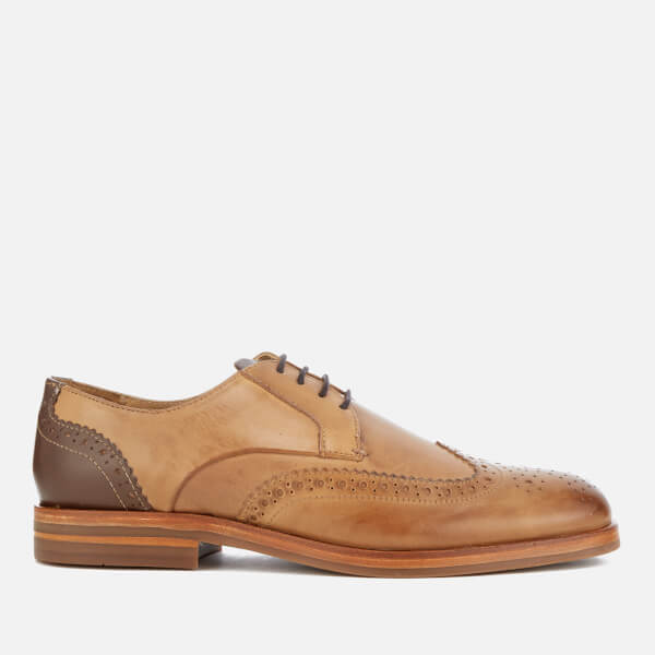 Hudson London Men's Osney Leather Brogues - Tan