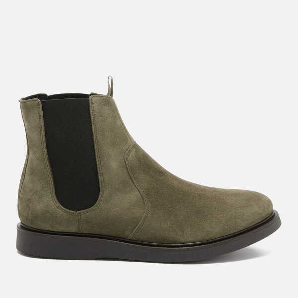 Hudson London Men's Brooksby Suede Chelsea Boots - Olive