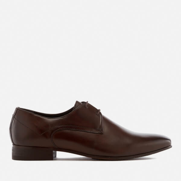 Hudson London Men's Leto Leather Derby Shoes - Brown