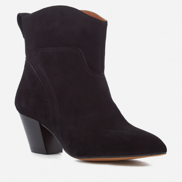 Hudson London Women's Karyn Suede Heeled Ankle Boots Clearance Comfortable NiKBmV