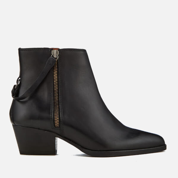 Hudson London Women's Larry Leather Heeled Ankle Boots - - UK 3 u7vEn0zh9
