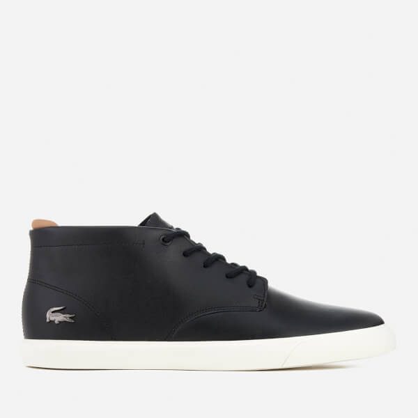 d7eea10fd Lacoste Men s Espere Chukka 317 1 Boots - Black  Image 1