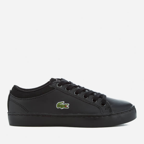 Lacoste Kids' Straightset Bl 1 Cupsole Trainers - Black
