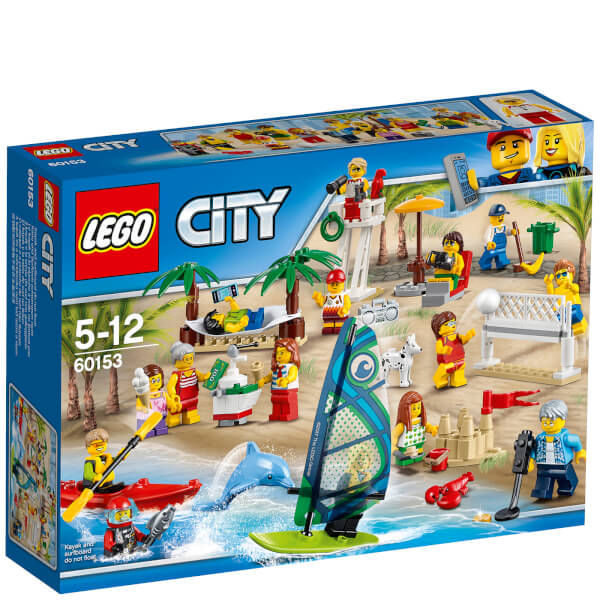 LEGO City: Town People Pack - Fun at the Beach (60153)