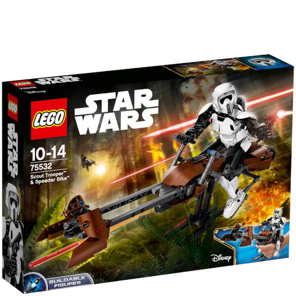 LEGO Star Wars: Scout Trooper & Speeder Bike (75532)