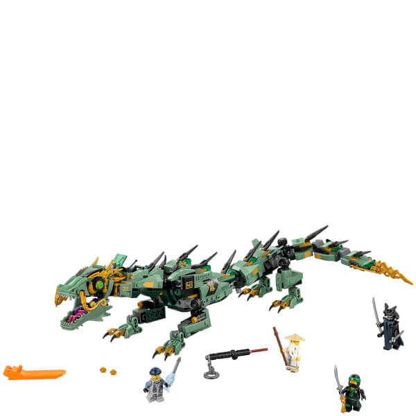 the lego ninjago movie green ninja mech dragon 70612 image 2