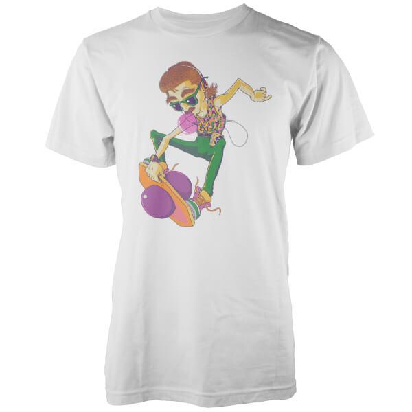 Vo Maria 80's Pogo Pete Men's White T-Shirt