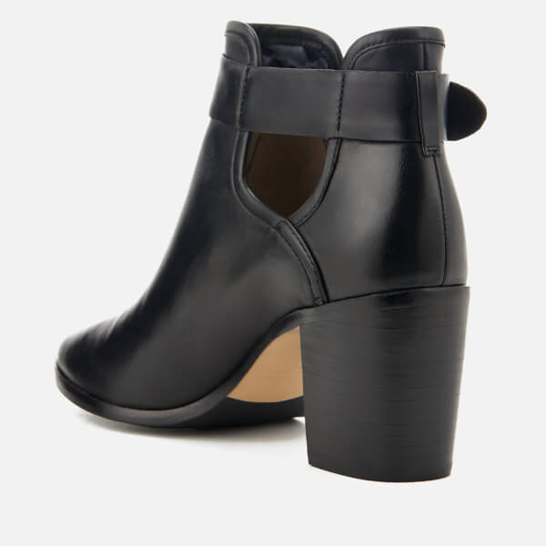 66ae9b64112466 Ted Baker Women s Sybell Leather Heeled Ankle Boots - Black  Image 4