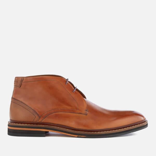 Ted Baker Men's Azzlan Leather Desert Boots - Tan