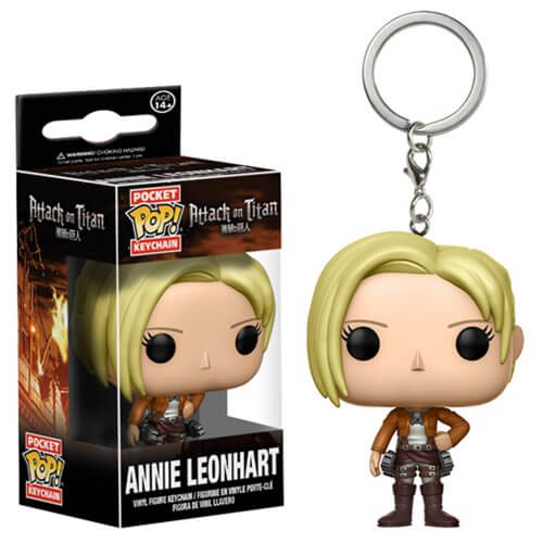Attack on Titan Annie Leonhart Pocket Pop! Key Chain