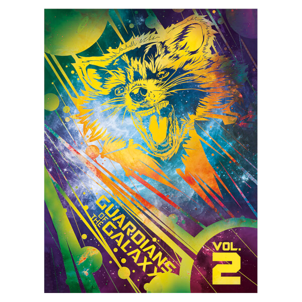 Guardians of the Galaxy Vol. 2 (Rocket) 60 x 80cm Canvas Print