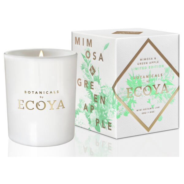 ecoya mimosa green apple mini botanic jar candle 270g limited edition buy online at ry. Black Bedroom Furniture Sets. Home Design Ideas