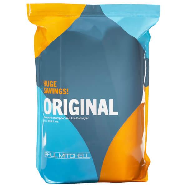Paul Mitchell Original Awapuhi Shampoo and The Detangler Conditioner Duo 2 x 1l