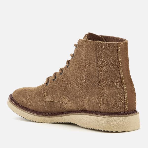 0a04587decf TOMS Men s Porter Suede Lace Up Boots - Toffee  Image 4