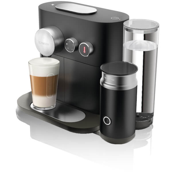 nespresso by krups xn601840 expert milk coffee machine. Black Bedroom Furniture Sets. Home Design Ideas