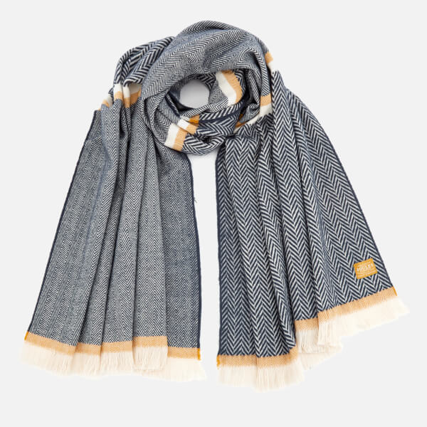Joules Women's Twilby Soft Scarf - Navy Twill