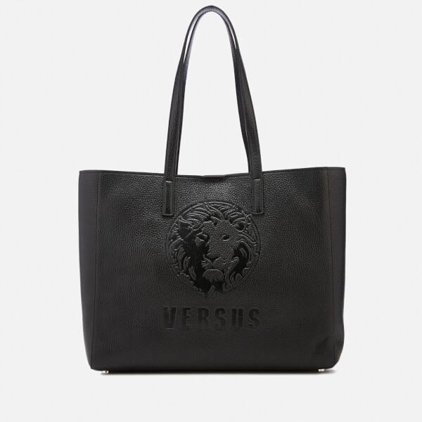 Versus Versace Women's Lion Embossed Tote Bag - Black