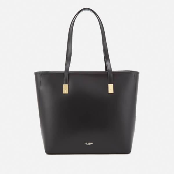 fac09be040c1 Ted Baker Women s Chelsey Charm Detail Large Shopper Bag - Black  Image 1