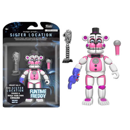 Funko Five Nights at Freddy's 5 Inch Articulated Action Figure - Fun Time Freddy