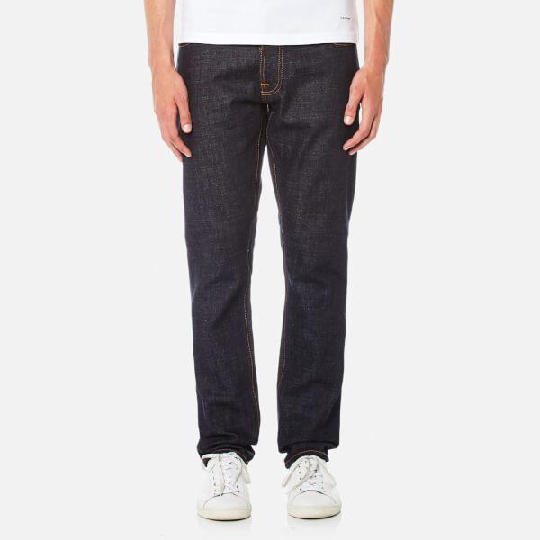 Nudie Jeans Men's Dude Dan Straight Leg Jeans - Dry Comfort Dark