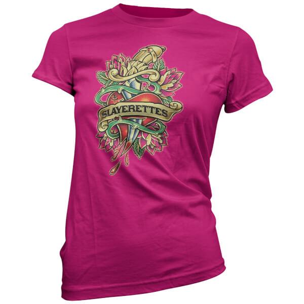 Buffy The Vampire Slayer Women's Slayer Tattoo T-Shirt