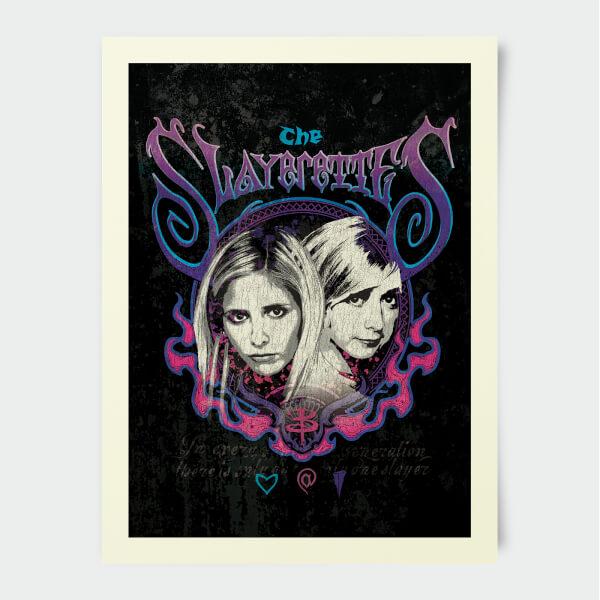 Buffy The Vampire Slayer The Slayerettes 30x40cm Print