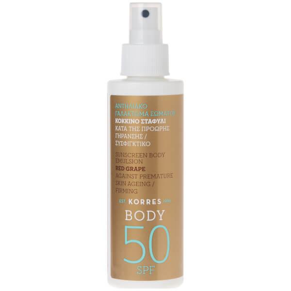 KORRES Red Grape Sunscreen Body Emulsion SPF50 150ml