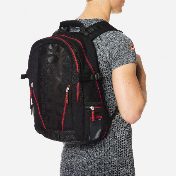 Superdry Diamond Tarp Backpack - Black