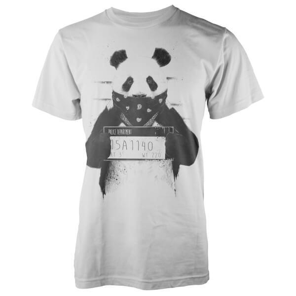 Solti Bad Panda White T-Shirt