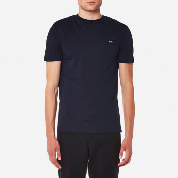 McQ Alexander McQueen Men's Small Swallow T-Shirt - Ink