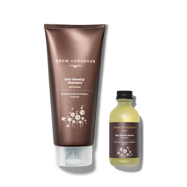 Hair Growth Serum Intense and Density Shampoo Intense (Worth £64)