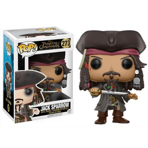 Figurine Pop! Pirates des Caraïbes Jack Sparrow