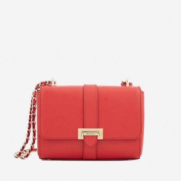 Aspinal of London Women's Lottie Bag - Scarlet