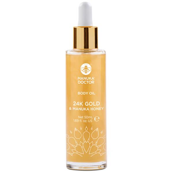 Manuka Doctor 24K Gold & Manuka Honey Body Oil 50ml