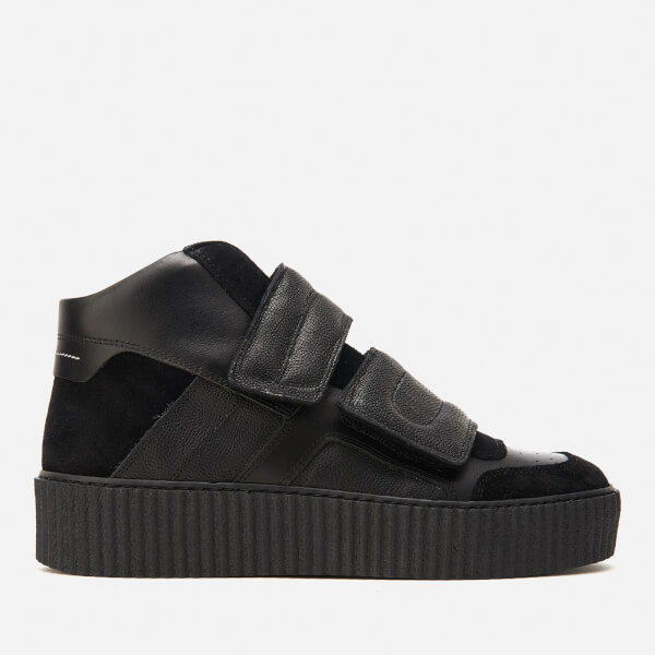 MM6 MAISON MARGIELA Women's Double Velcro Hi-Top Trainers - / / - UK 5 9TpWB