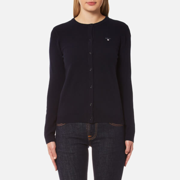 Sale Real Womens Super Fine Lambswool Crew Cardigan GANT Discount Pictures Many Styles Cheap Sale Hot Sale Low Price Sale LC0DKAFm