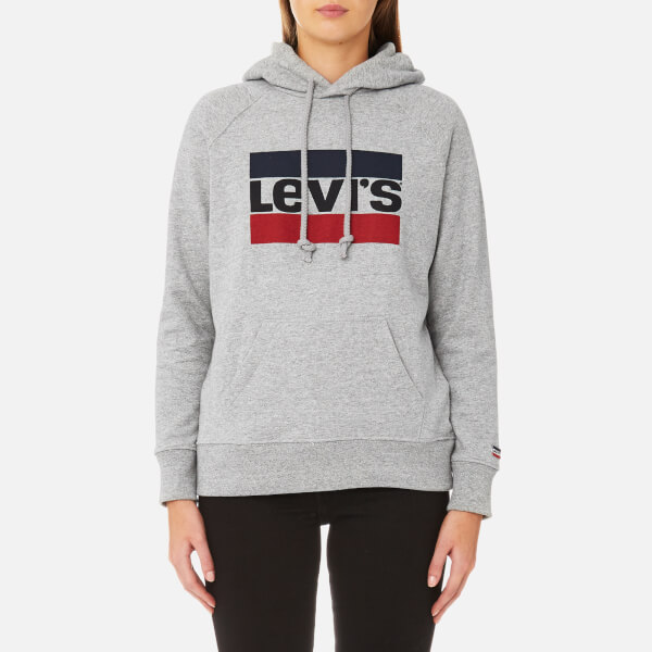 levi 39 s women 39 s graphic sport hoody smokestack damenbekleidung. Black Bedroom Furniture Sets. Home Design Ideas