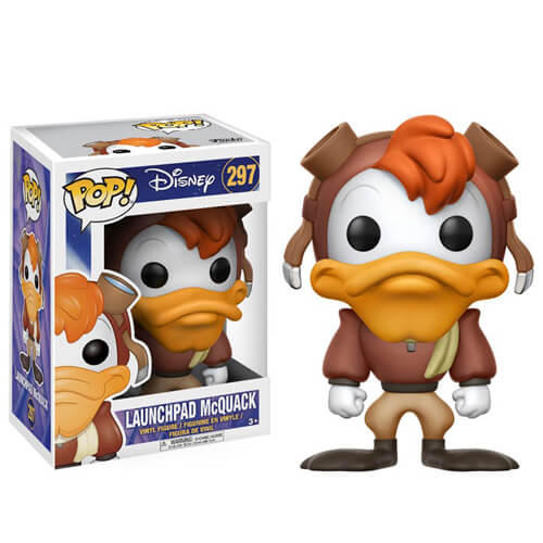 Disney Launchpad McQuack Pop! Vinyl Figure | Pop In A Box US