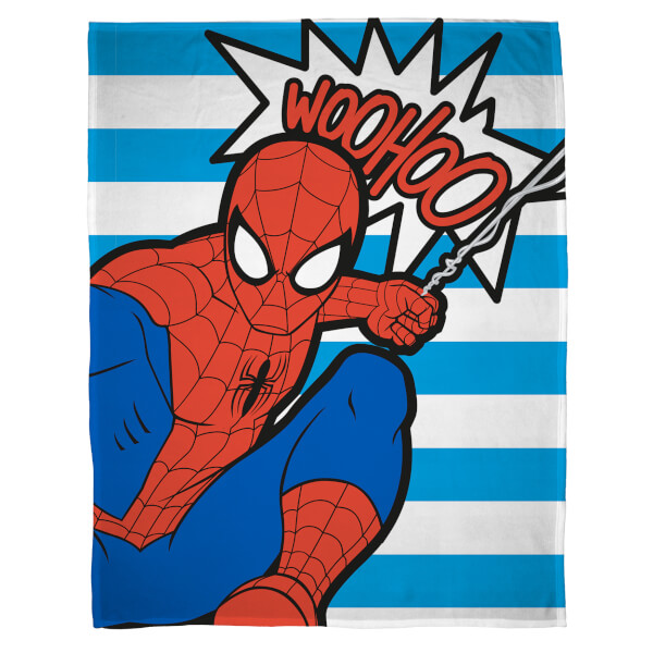 Plaid en Polaire Disney Marvel Ultimate Spider-Man