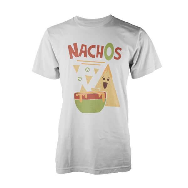 Teo Nachos Men's White T-Shirt