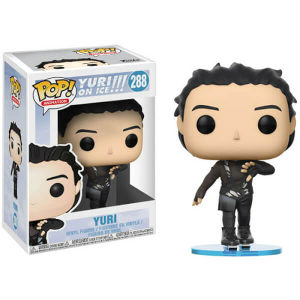 Yuri On Ice Skate Wear Pop Vinyl Figure Image 2