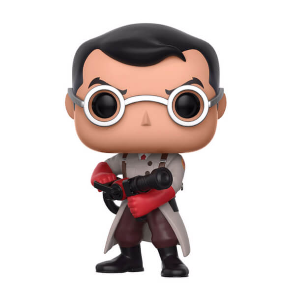 Team Fortress 2 Medic Pop Vinyl Figure Pop In A Box Uk