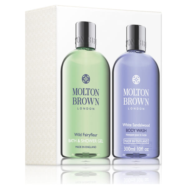 molton brown wild fairyfleur amp white sandalwood bath and molton brown delicious rhubarb and rose bath and shower