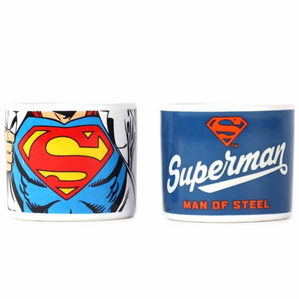 Lot De 2 Coquetiers DC Comics Superman