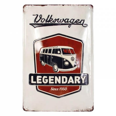 VW Collection Logo Metal Sign (20 x 30cm)