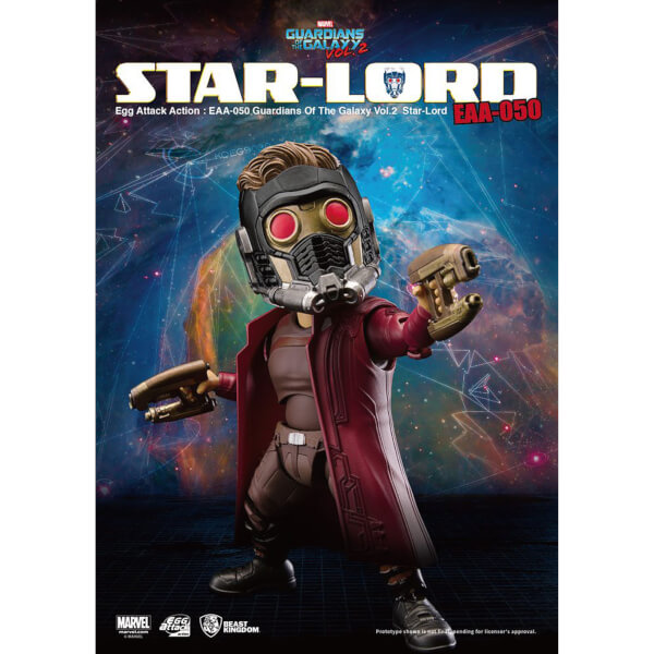 Beast Kingdom Marvel Guardians of the Galaxy Vol. 2 Egg Attack Star-Lord 15cm Action Figure
