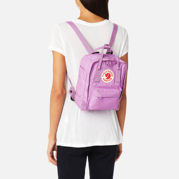 38c7a41a7c Fjallraven Kanken Mini Backpack - Orchid  Image 3