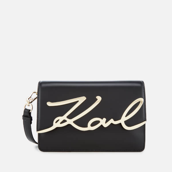 Buy Cheap Free Shipping Cheap Sale Factory Outlet K/Signature shoulder bag - Black Karl Lagerfeld New Arrival D3XUdfH